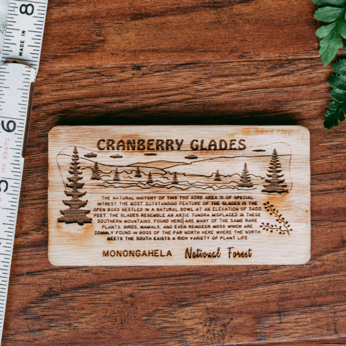 Cranberry Glades - State Park Magnet
