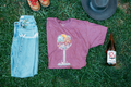 Babcock Wine Glass - Unisex Fit Shirt
