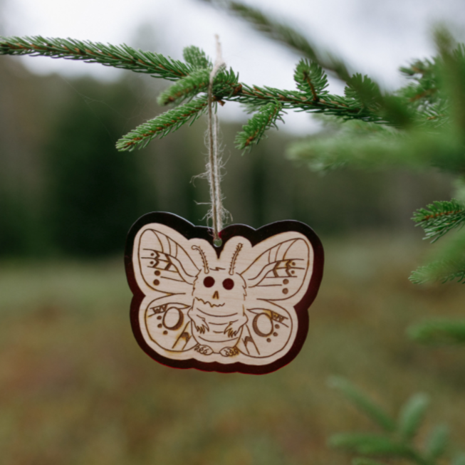 Baby Mothman Ornament