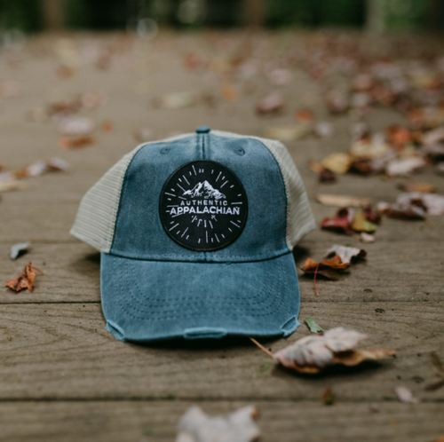 Authentic Appalachian Patch Hat