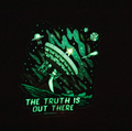 The Truth Is Out There - Glow in the dark - Sticker
