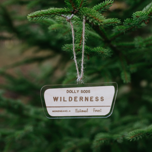 Dolly Sods State Park Ornament