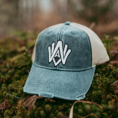 WVA Distressed Patch Hat