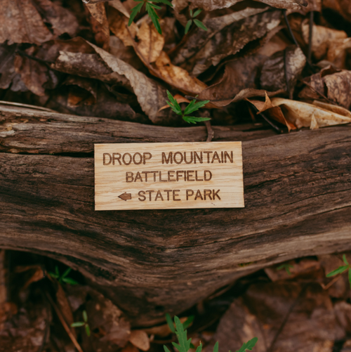 Droop Mountain Battlefield - State Park Magnet