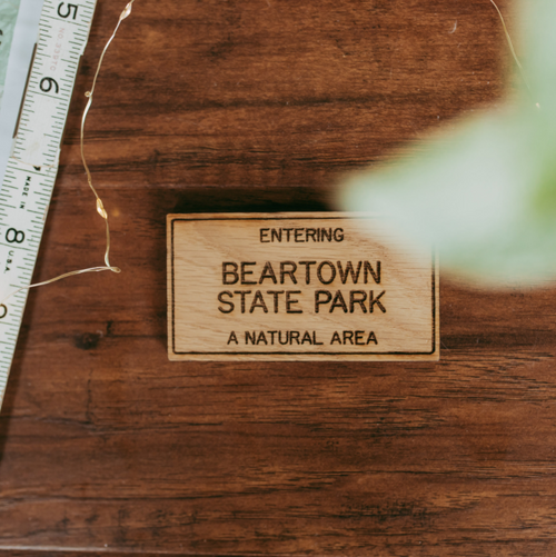 Beartown - State Park Magnet