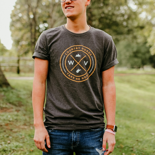 WV Seal Shirt - Loving West Virginia (LovingWV)
