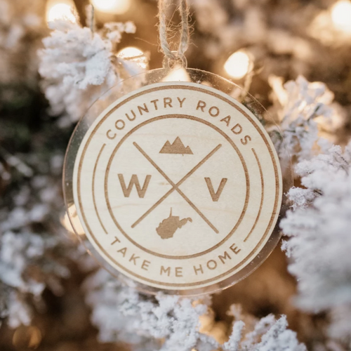 WV Seal Ornament - Loving West Virginia (LovingWV)