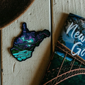 Midnight Stars - Glow in the dark - Sticker - Loving West Virginia (LovingWV)