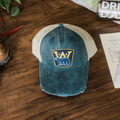 Black Bear Hat Patch Hat - Loving West Virginia (LovingWV)