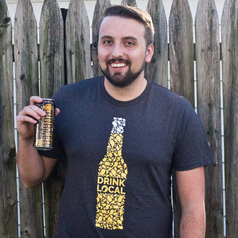 Drink Local Shirt - Loving West Virginia (LovingWV)
