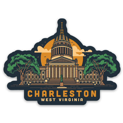 The Capitol - Sticker