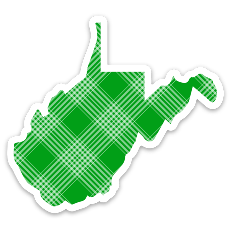 Herd You Like Plaid - Sticker - Loving West Virginia (LovingWV)