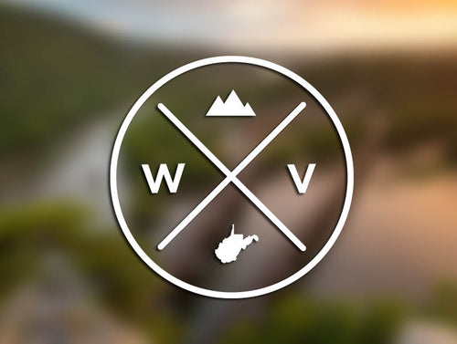 WV Seal Decal - Loving West Virginia (LovingWV)