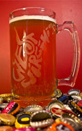 West Virginia Doodle Beer Mug (26.5 oz) - Loving West Virginia (LovingWV)