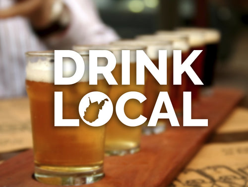 Drink Local Decal - Loving West Virginia (LovingWV)