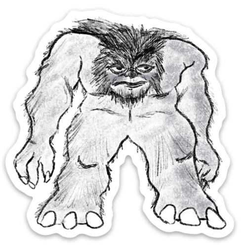 Grafton Monster Sticker