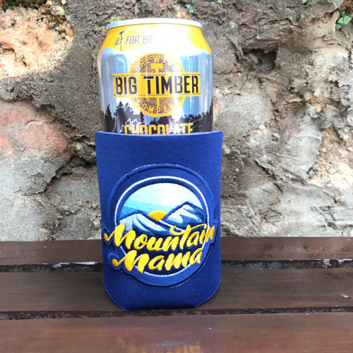 Mountain Mama Patch Can Cooler - Loving West Virginia (LovingWV)