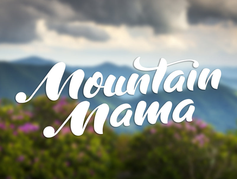 Mountain Mama Decal