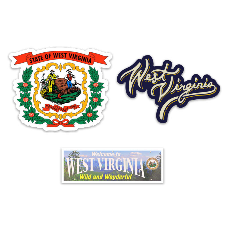 Loving WV Sticker Pack 5 - Loving West Virginia (LovingWV)
