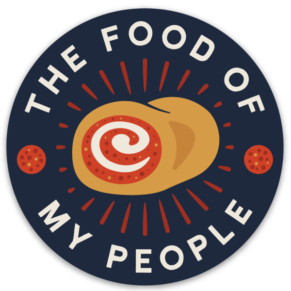 Food Of My People Sticker - Loving West Virginia (LovingWV)