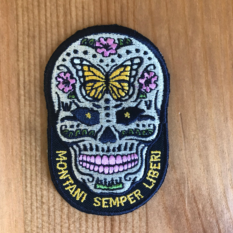 Sugar Skull - Patch - Loving West Virginia (LovingWV)