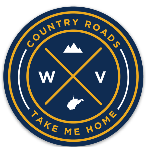 WV Seal Sticker - Loving West Virginia (LovingWV)
