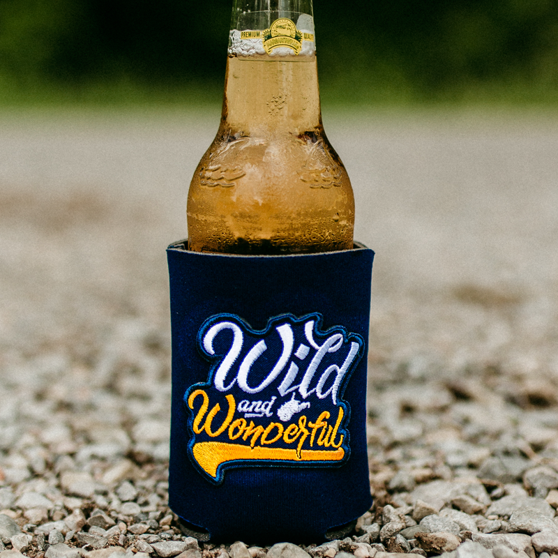 Wild & Wonderful Patch Can Cooler - Loving West Virginia (LovingWV)
