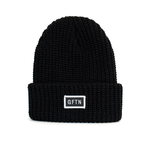 The Heavyweight Beanie - Black