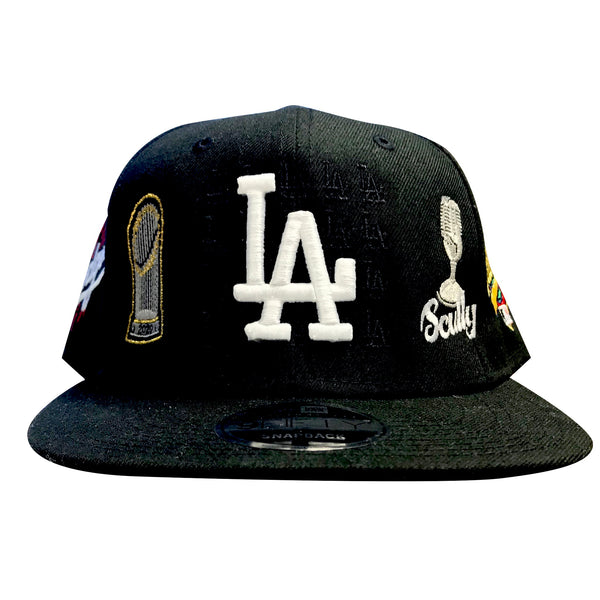 New Era 9FIFTY GO BLUE Champion Snapback - Black