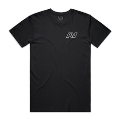"AV - ""ESSENTIAL"" TEE - BLACK"
