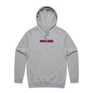 "GABE C - ""GOODMORNING"" HOODIE - HEATHER GREY"