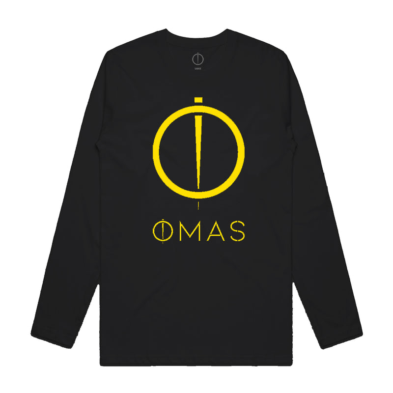 OMAS Music Long Sleeve - Black/Gold