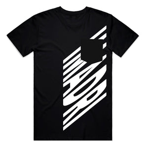 IMADRI - SELFLESS POCKET TEE - BLACK