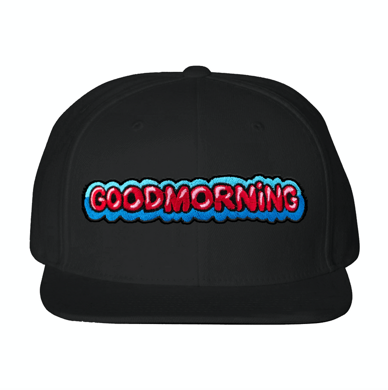 "GABE C - ""GOOD MORNING"" SNAPBACK - BLACK"