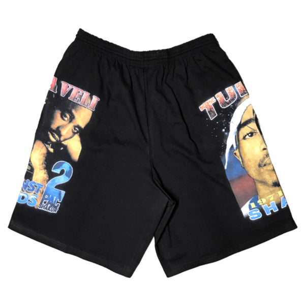 SHAUN KNOW - TUPAC RAP SHORTS
