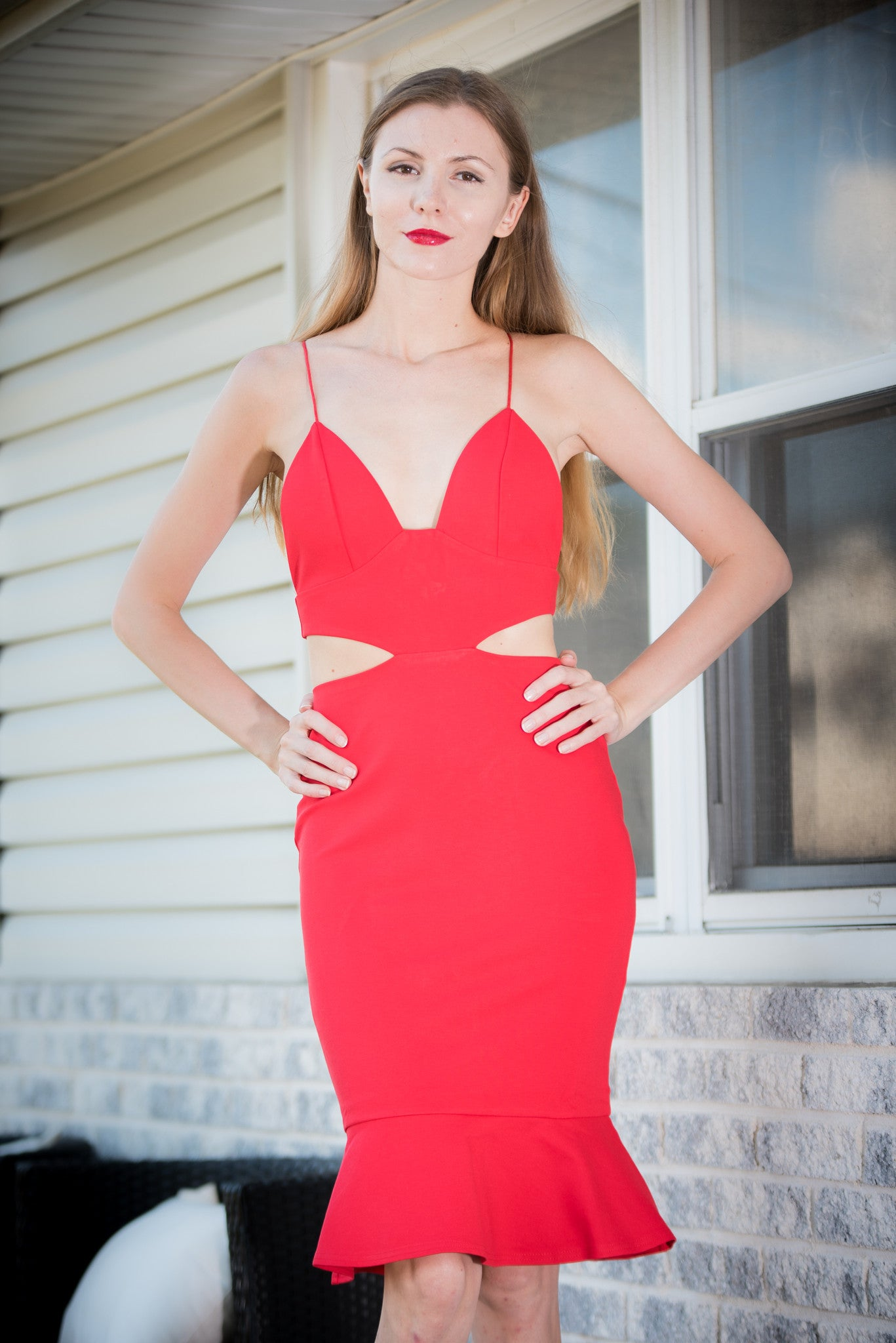 7bc48fc41a3 Addicted To Love Dress Red – Minaly