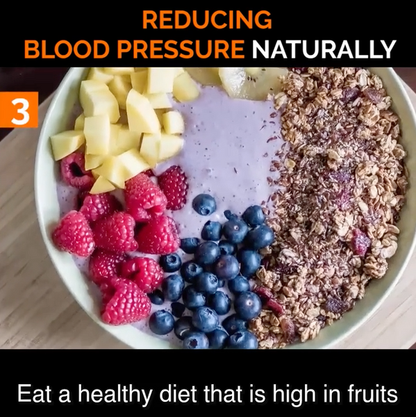 03. Eat a Healthy Diet to Help Lower Blood Pressure Naturally