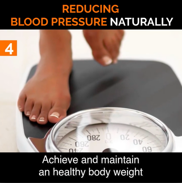 #4 Achieve a Healthy Body Weight to Help Lower Blood Pressure Naturally