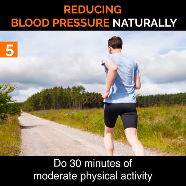 #5 Do 30 Minutes of Light Physical Activity Each Day to Help Lower Blood Pressure Naturally