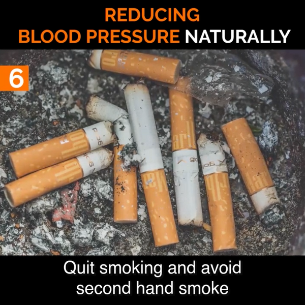 #6 Stop Smoking to Help Lower Blood Pressure Naturally