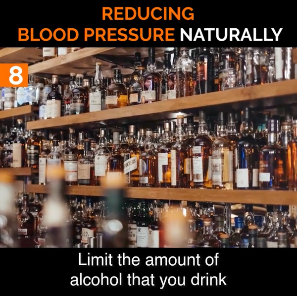 #8 Limit the Amount of Alcohol that You Consume to Help Lower Blood Pressure Naturally