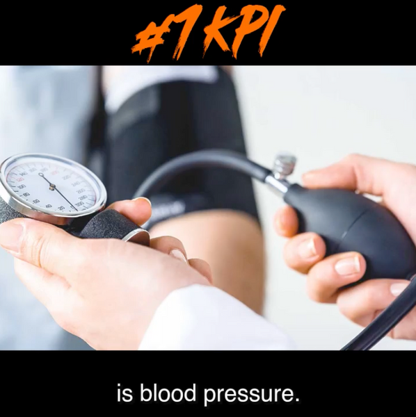 The #! Health Related KPI is Blood Pressure