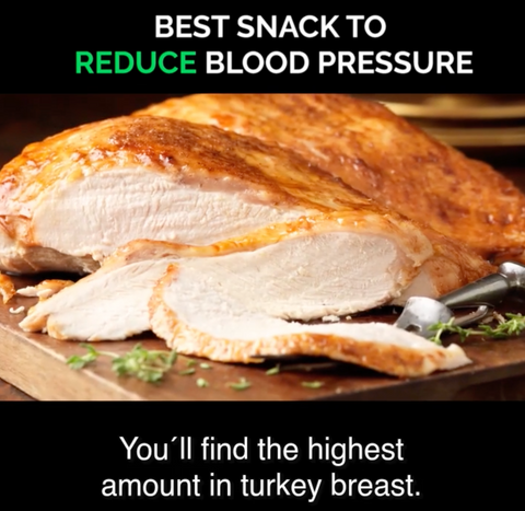 Turkey breast are rich in Arginine