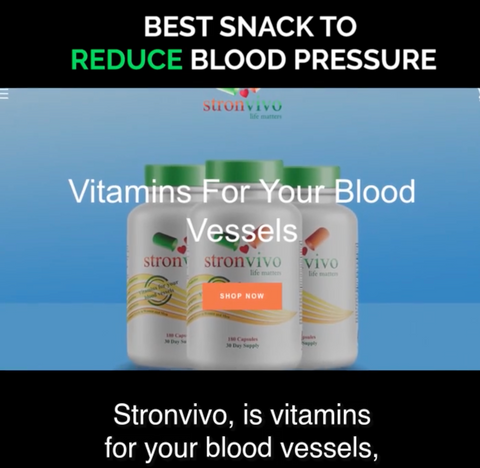 Stronvivo is Vitamins for Your Blood Vessels