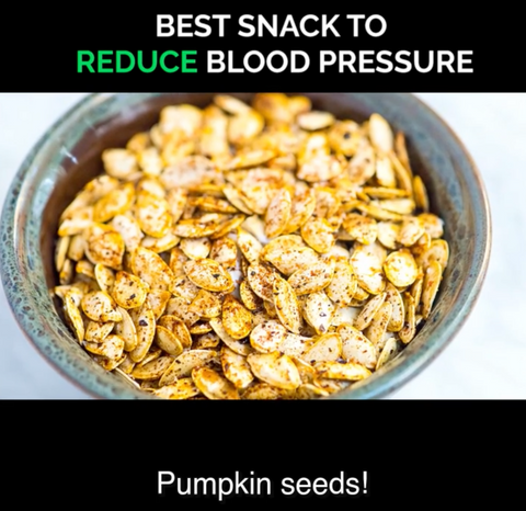 Pumpkin Seeds are rich in Arginine, Citrulline, Magnesium and Zinc