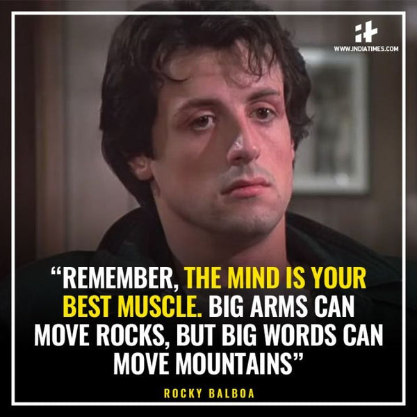 Words can move mountains