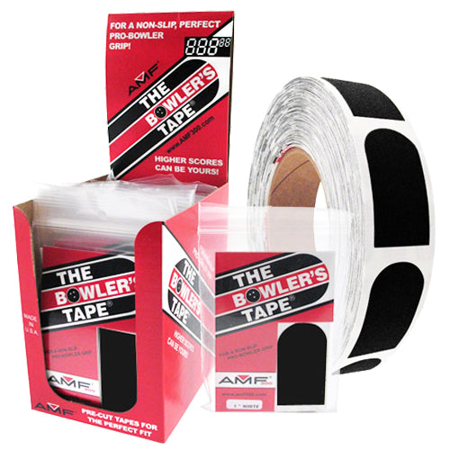 AMF The Bowler's Tape <br>Smooth Insert Tape <br>Black