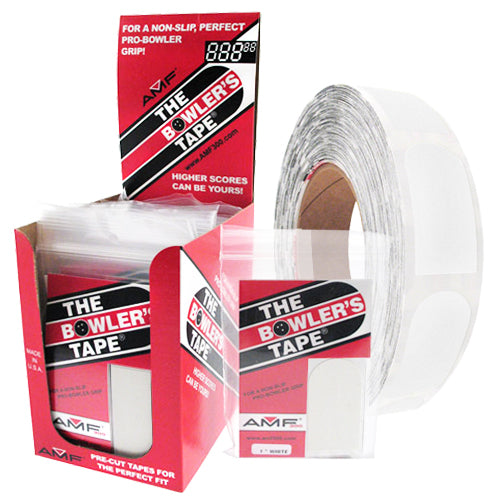 AMF The Bowler's Tape <br>Textured Insert Tape <br>White