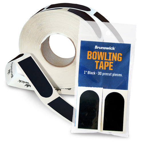 Brunswick Bowling Tape<br>Smooth Insert Tape<br>Black