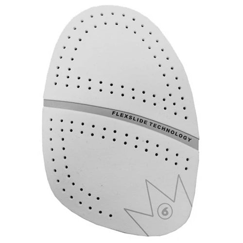 Brunswick Performance Slide Pad <br>(SP-6) Perforated White Microfiber